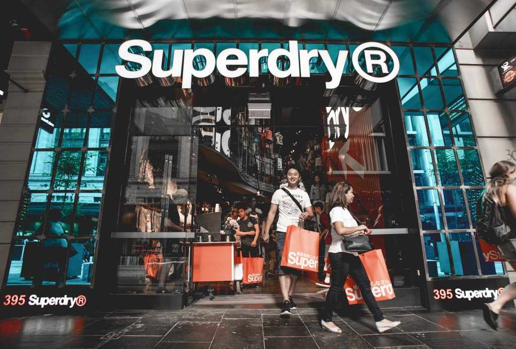 Media photography - Superdry promotion